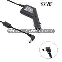 Автомобильный блок питания для ноутбука SONY 12V 3A 36W 5.5x3.0 (B) оптом от 3шт