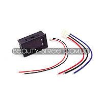 Цифровой вольтметр - амперметр DС 0-100V 10А  LED оптом от 3шт