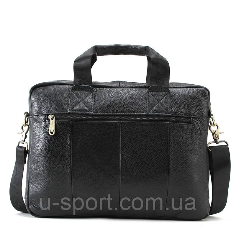 858e42696020 Мужская кожаная сумка Ox Bag Briefcase (чёрная, натуральная кожа), цена 1  836 грн., купить в Киеве — Prom.ua (ID#547506986)