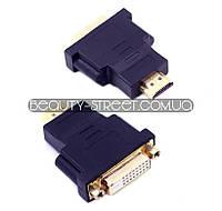 Переходник DVI-D (мама) - HDMI (папа) оптом от 3шт