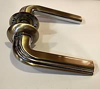 Ручки для межкомнатных дверей прямые в хроме