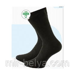 Носки мужские черные хлопковые Легка хода