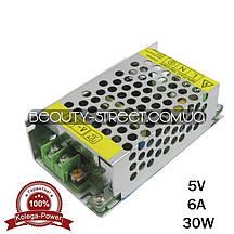 Блок питания для LED YDS05-30 5V 30W 6A (B) оптом от 3шт