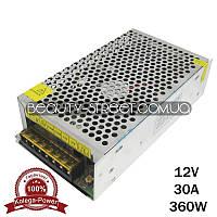 Блок питания для LED YDS12-360 12V 360W 30A (B) оптом от 3шт