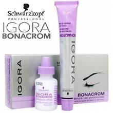 Краситель для окрашивания бровей и ресниц Schwarzkopf Professional Igora Bonacrom