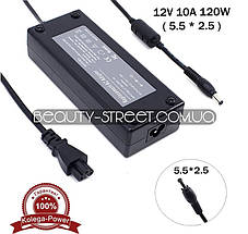 Блок питания для LCD монитора 12V 10A 120W 5.5x2.5 (A) оптом от 3шт