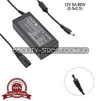Блок питания для LCD монитора 12V 5A 60W 5.5x2.5 (B) оптом от 3шт