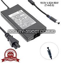 Блок питания для ноутбука Dell 19.5V 4.62A 90W 7.4x5.0 (Original) оптом от 3шт