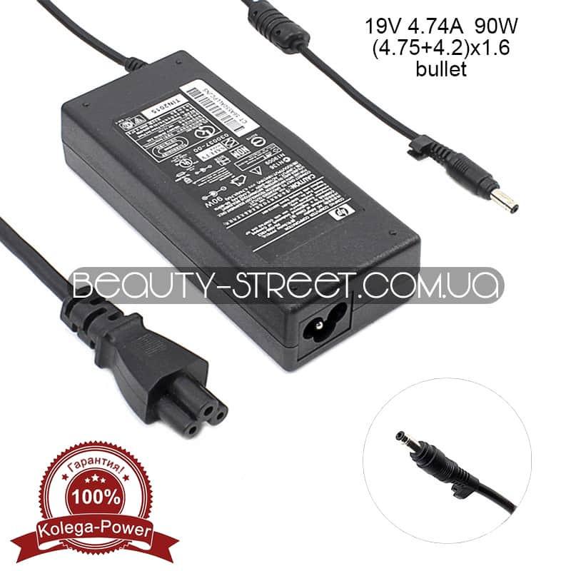Блок питания для ноутбука HP/Compaq 19V 4.74A 90W (4.75+4.2)x1.6 (B) оптом от 3шт