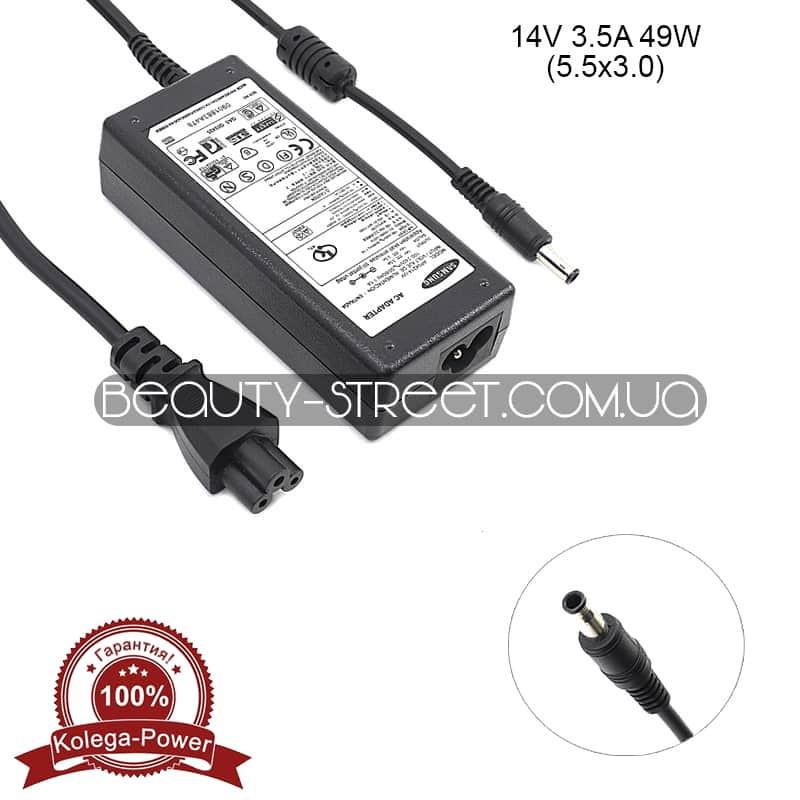 Блок питания для монитора Samsung 14V 3.5A 49W 5.5x3.0 (B) оптом от 3шт