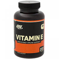 Vitamin E 400 Optimum Nutrition, 200 капсул