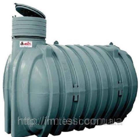 Накопительный бак для воды и других жидкостей ELBI CU 10 000 литров, специальный, фото 2