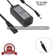 Блок питания для LCD монитора 12V 3A 36W 5.5x2.1 (B) оптом от 50$