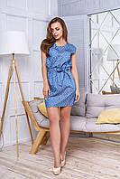 Короткое женское  платье А 46 джинс  Arizzo 44-54  размеры