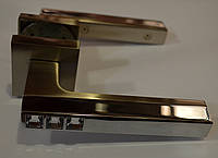 Стильные дверные ручки высокого качества FUARO хром-антик