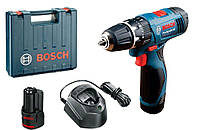 Аккумуляторная ударная дрель-шуруповерт Bosch GSB 120-LI Professional