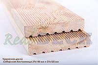 Террасная доска из сибирской лиственницы