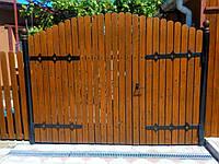 Жуковины на ворота, резные ворота, ограды, заборы, декоративная плазменная резка