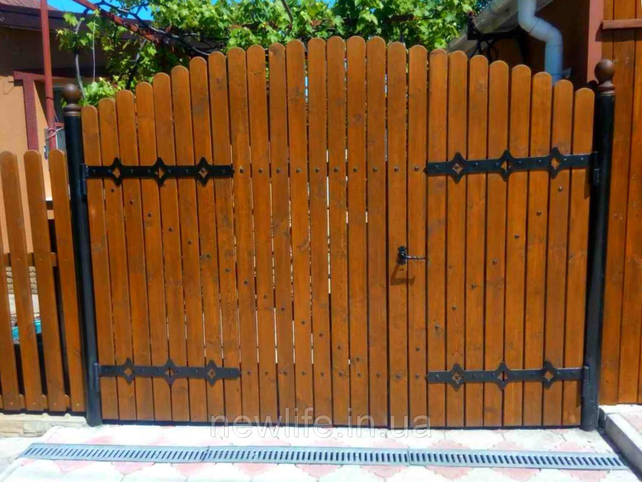 Жуковины на ворота, резные ворота, ограды, заборы, декоративная плазменная резка - NewLife в Мариуполе