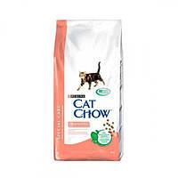 Cat Chow Sensitive Корм для кошек с чувствительным пищеварением 15КГ