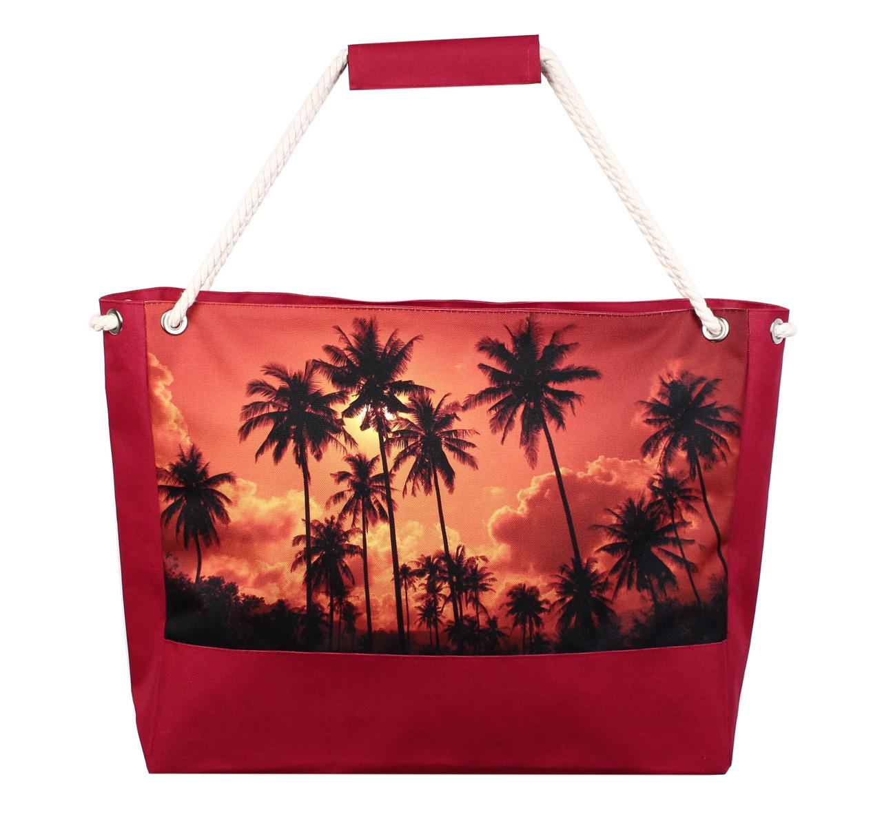 aa26d18bbde3 Большая красная пляжная сумка Майями Бич, цена 262 грн., купить в ...