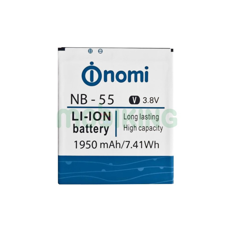 Оригинальная батарея на Nomi i505 (NB-55) для мобильного телефона, аккумулятор.