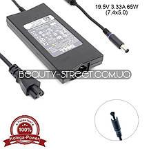 Блок питания для ноутбука Dell 19.5V 3.33A 65W 7.4x5.0 (A) оптом от 50$