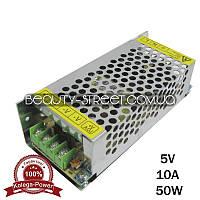 Блок питания для LED YDS05-50 5V 50W 10A (B) оптом от 50$