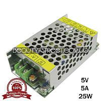 Блок питания для LED YDS05-30 5V 25W 5A (B) оптом от 50$