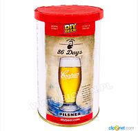 Концентрат для изготовления пива 86 Days Pilsner - 1,7 kg