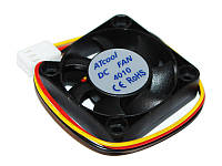 Вентилятор (кулер) 40 mm ATcool 4010 DC sleeve fan 3pin - 40*40*10мм