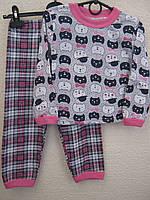 Піжама трикотажна для дівчинки (3-4 роки)