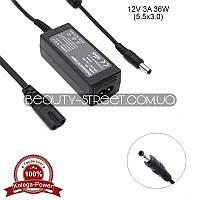 Блок питания для LCD монитора 12V 3A 36W 5.5x3.0 (B) оптом от 200$