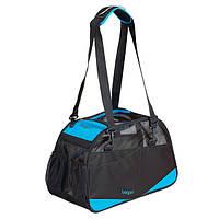 БЕРГАН ВОЯЖЕР КОМФОРТ сумка переноска для собак и кошек до 10 кг, 48х33х25 см, голубая и розовая