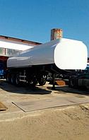 Напівпричіп цистерна 30 м3, 3 відсіки (сталь)