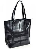 Женская кожаная сумочка черная 8287