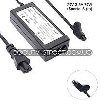 Блок питания для ноутбука Dell 20V 3.5A 70W 3 pin (B) оптом от 3шт