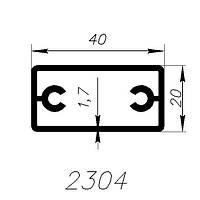 АЛЮМИНИЕВЫЙ ПРОФИЛЬ ALTINEL СЕРЕБРО АНОДИРОВАНОЕ L=6М (2304)