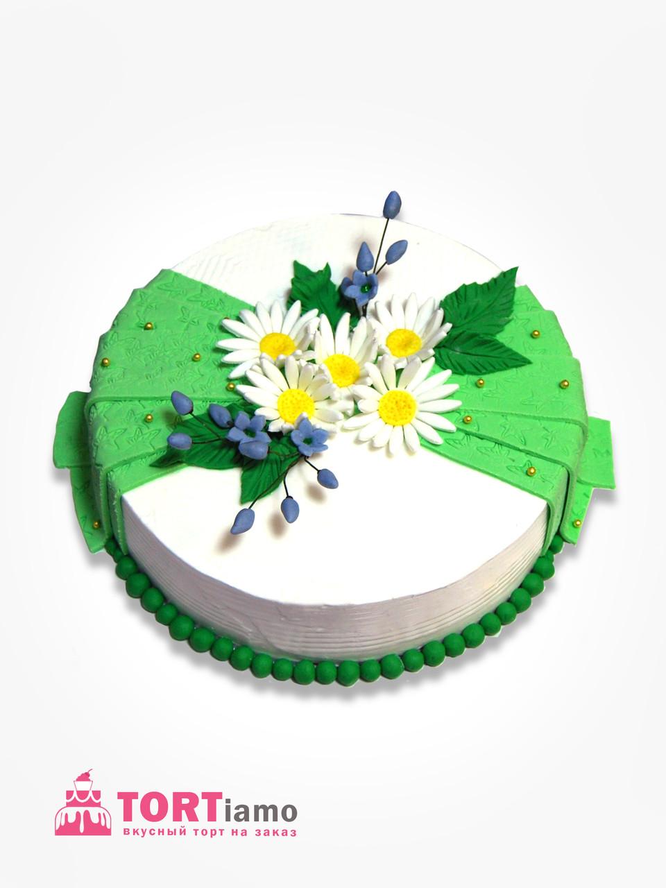 """Торт """"Ромашки для Наташки"""""""