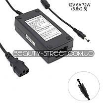 Блок питания для LCD монитора 12V 6А 72W 5.5x2.5 (B) оптом от 50$