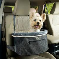 БЕРГАН КОМФОРТ ХАНИНГ БУСТЕР сумка автогамак на переднее сиденье в автомобиль для перевозки собак, 38х24х38