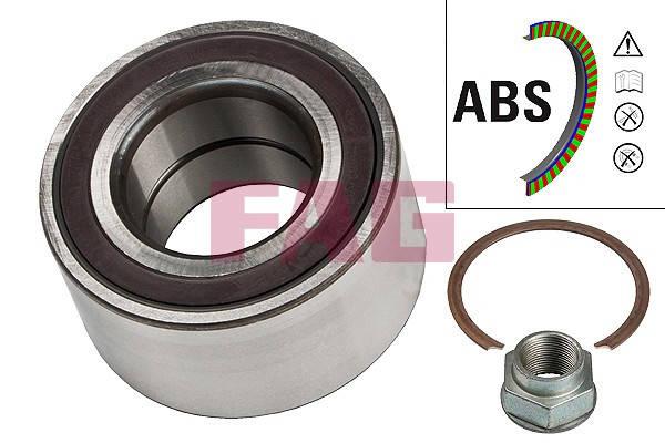 Подшипник ступицы передний Fiat Doblo 01- ( ABS) (37x72x37), фото 2