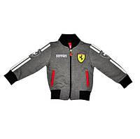 Спортивный костюм Ferrari серого цвета