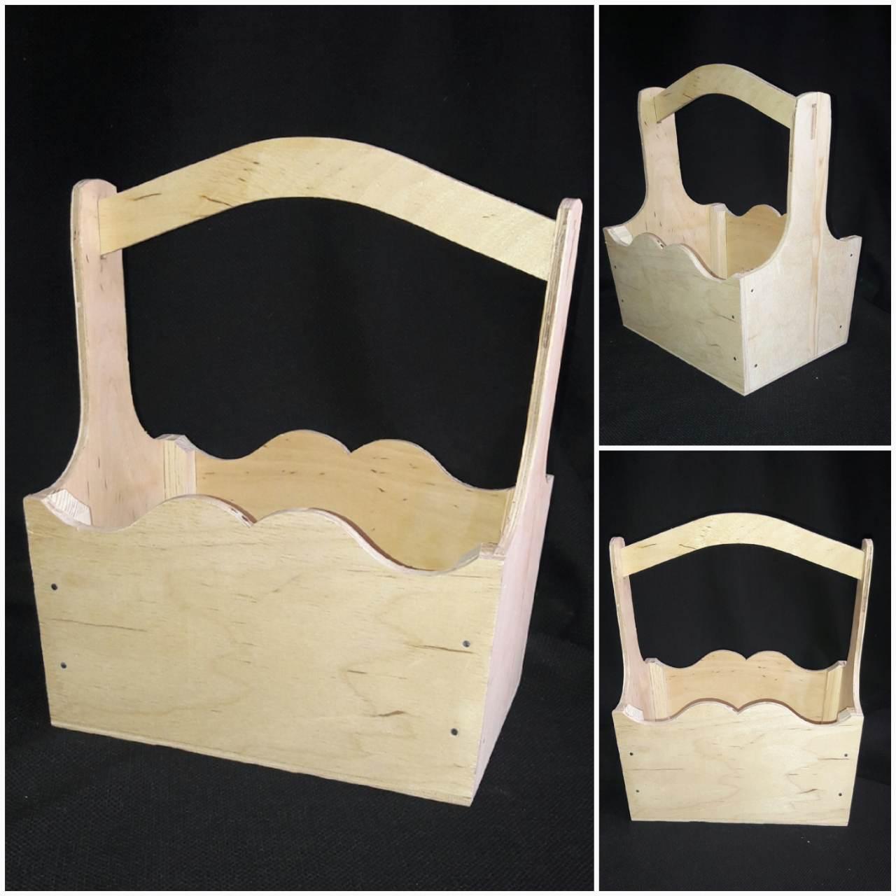 Неокрашеный декупажный ящик, ручная работа, 22х16х28 см, 160/130 (цена за 1 шт. + 30 гр.)