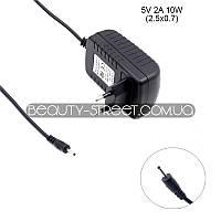 Блок живлення для планшета 5V 2A 10W 2.5x0.7 оптом від 3шт