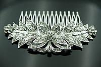 Свадебные украшения на голову. Свадебные гребешки в волосы для невест 446
