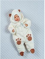 Теплый комбинезончик для новорожденных