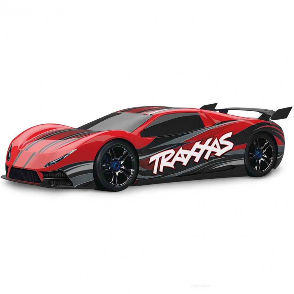 Автомобиль Traxxas XO-1 Brushless 1:7 RTR 64077 Red