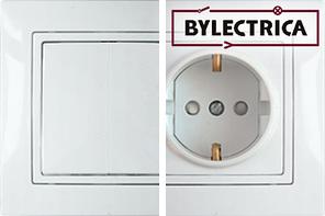 Розетки, выключатели, электро вилки, колодки Bylectrica (Беларусь)