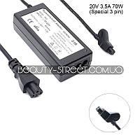 Блок питания для ноутбука Dell 20V 3.5A 70W 3 pin (B) оптом от 50$